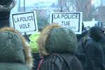Manifestation contre les violences policières, à Bobigny, samedi 11 février 2017.