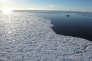 Près de Devon Island, dans l'Arctique canadien, le 27 septembre 2015.