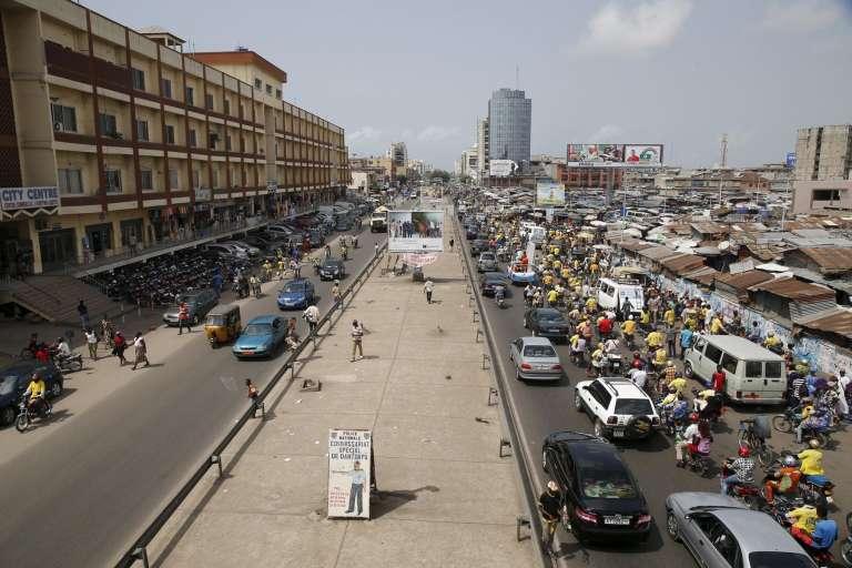 Dans le quartier Tokpa de Cotonou, capitale du Bénin.