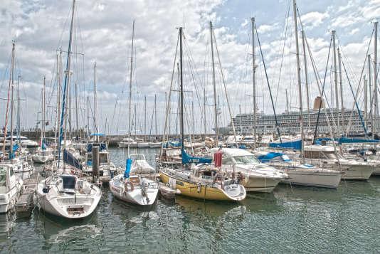 Un port de plaisance à Madère.