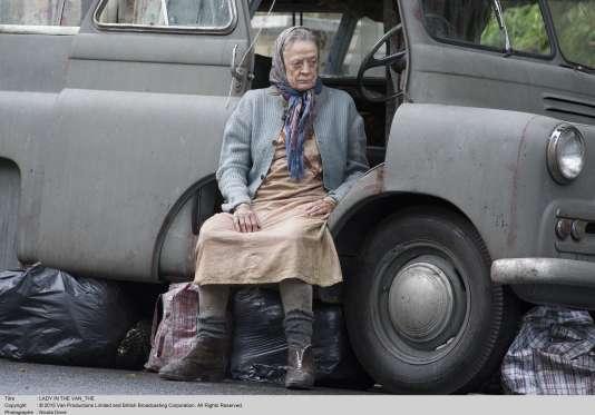 Maggie Smith dans« The Lady in the Van»,de Nicholas Hytner