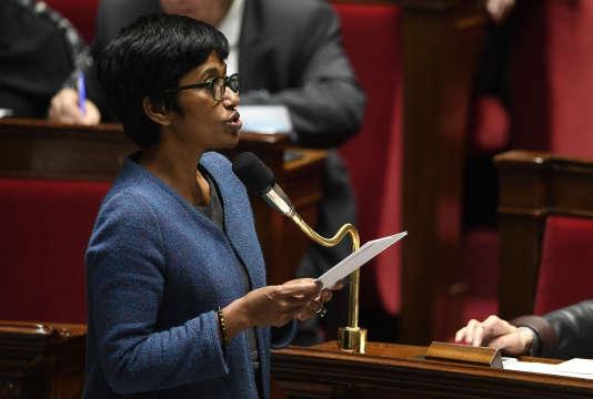 La ministre des outre-mer, Ericka Bareigts, le 7 février, à l'Assemblée nationale.
