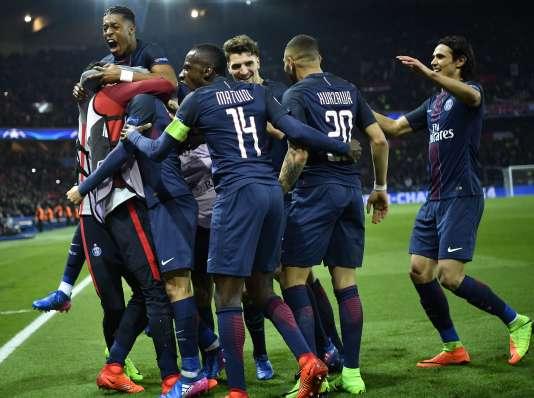 Les joueurs du PSG ont surclassé Barcelone, mardi 14 février.