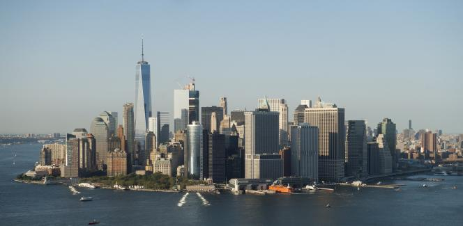 Vue de Manhattan, le 13 septembre 2016.