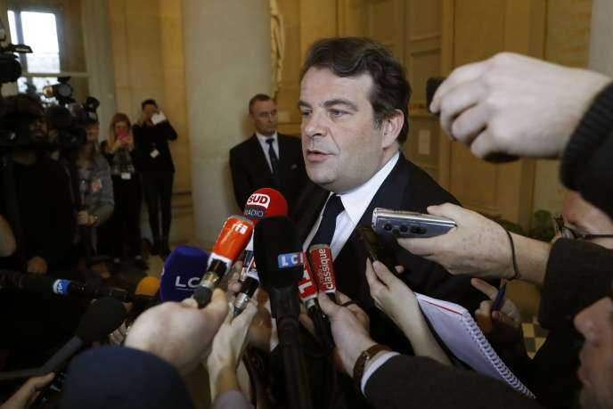 Thierry Solère, député des Hauts-de-Seine, le 14 février à l'Assemblée nationale.