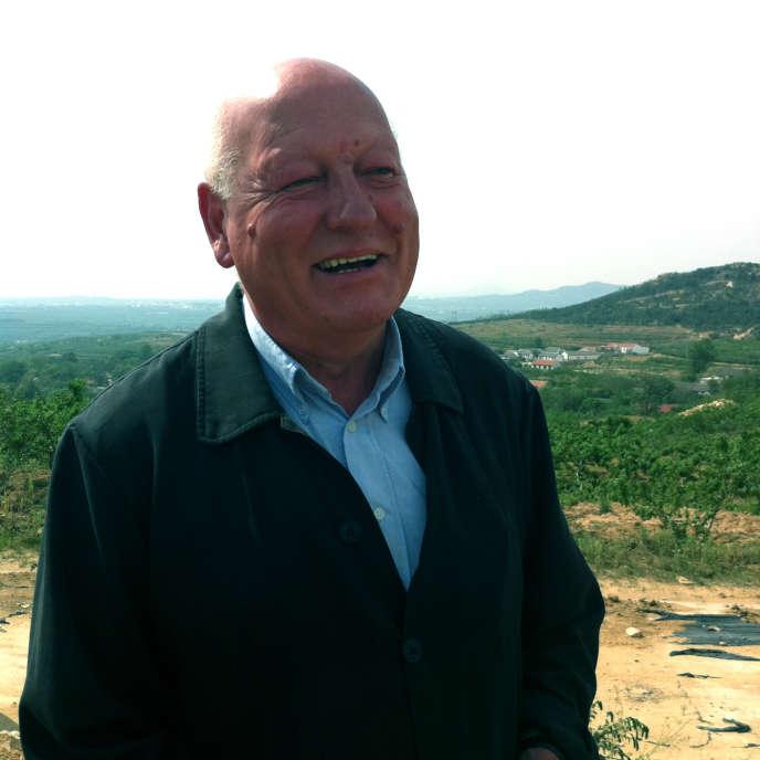 Gérard Colin, en 2012, à Penglai, en Chine.