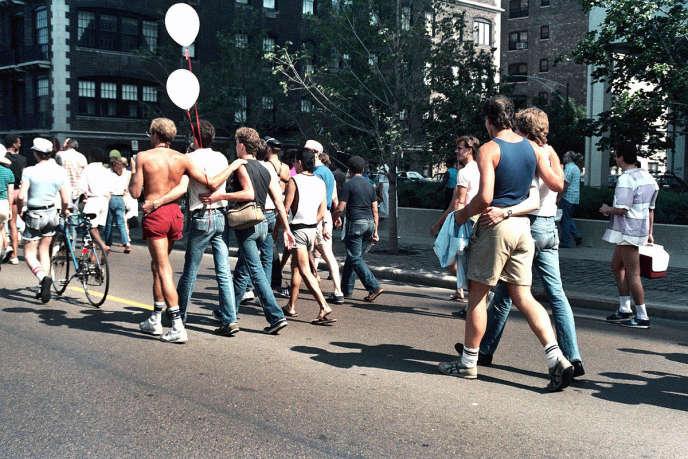 Gay Pride, Chicago, 1985.