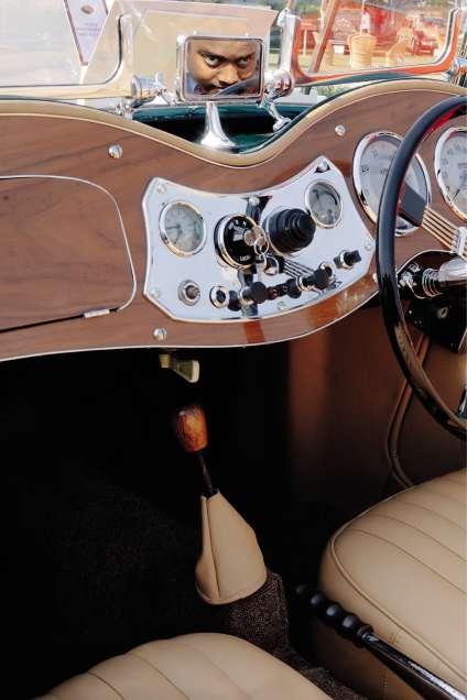 Roadster MG-TD de 1950.