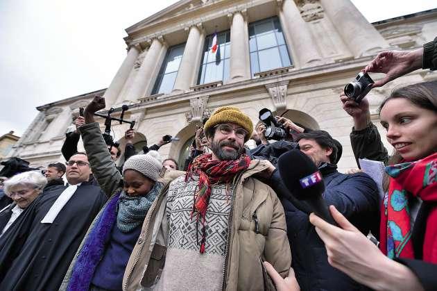 Malgré sa condamnation à 3000euros avec sursis, Cédric Herrou a annoncé qu'il compte poursuivre son aide aux migrants.