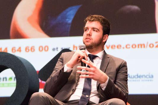 Roland Hemmer, membre de l'association E-mma, invitéd'O21 / s'orienter au 21esiècle, les 10 et 11février, à Cenon (Gironde).