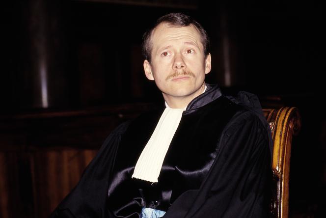 Le juge Patrick Desmure en 1987.