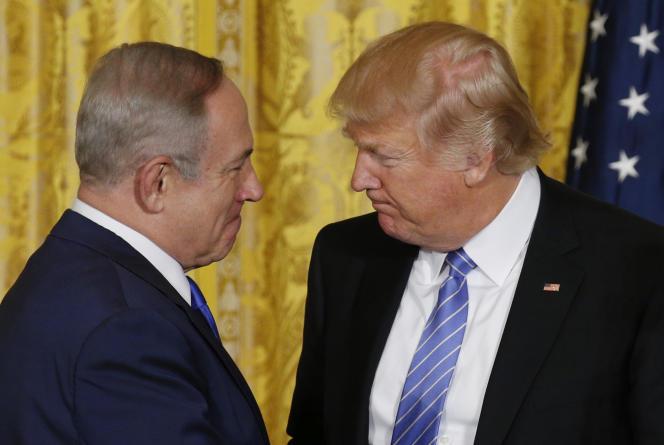 Le président américain a jugé, mercredi 15 février, que l'allié israélien avait été traité de manière « très injuste » par les Nations unies.