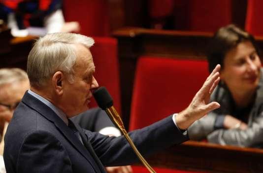 Jean-Marc Ayrault à l'Assemblée nationale, mercredi 15 février.