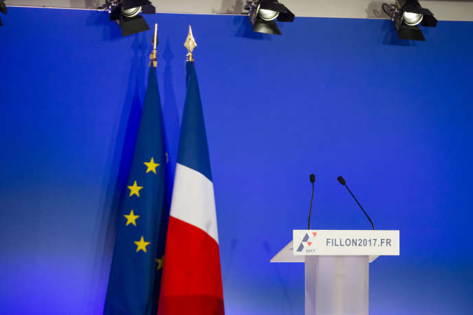 «L'invocation de la séparation des pouvoirs est politiquement dangereuse. L'argument vise ni plus ni moins à revendiquer une forme de privilège» (Photo: conférence de presse de François Fillon dans son QG de campagne à Paris le 6 février).