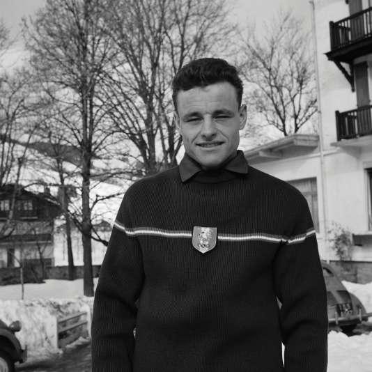 Adrien Duvillard, le 5 février 1960.