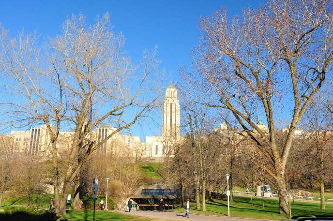 Campus de l'université de Montréal, au Canada, en 2011.