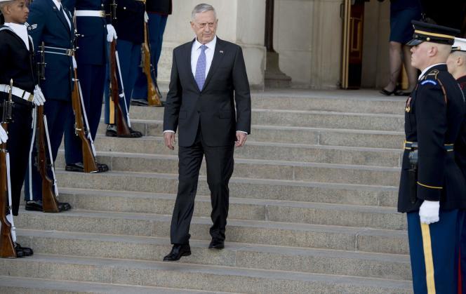 Le secrétaire à la défense américain James Mattis au Pentagone le 6 février.