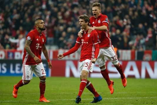 Le Bayern Munich s'est imposé largement contre Arsenal, mercredi 15 février.