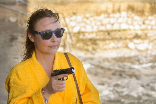 Catherine Frot dans« La Tueuse caméléon» sur France 2.