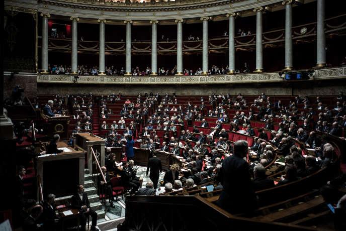 A l'Assemblée nationale, le 31 janvier.