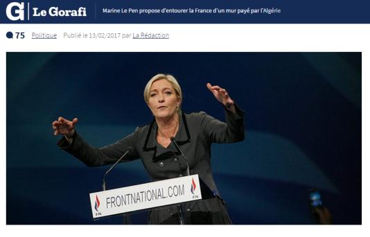 Capture d'écran www.legorafi.fr