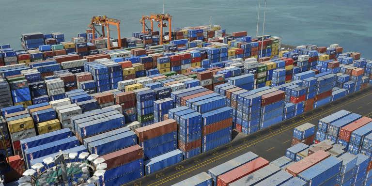 Vue du port de Djibouti.