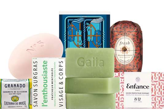 Le savon, un produit cosmétique de luxe.