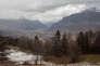 La vallée de l'Arve ( Haute Savoie) le 4 mars.
