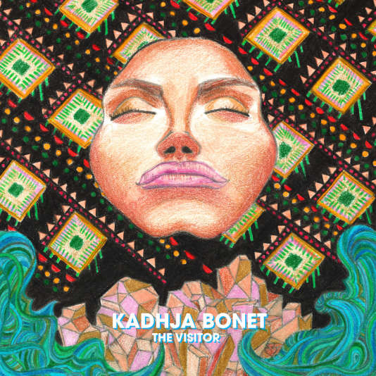 Pochette de l'album « The Visitor », de Kadhja Bonet.
