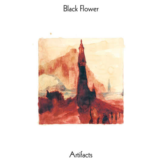 Pochette de l'album « Artifacts », de Black Flower.