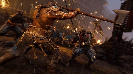 Des samouraïs contre des Vikings? Si«For Honor» se prend très au sérieux, mais il ne pousse pas le vice jusqu'à tenter de justifier son univers.