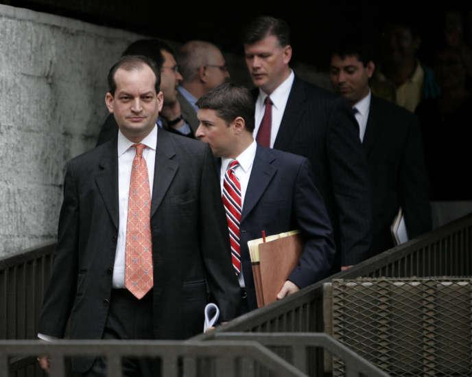 Alexander Acosta, en juin 2008, lorsqu'il était procureur du District Sud de Floride.