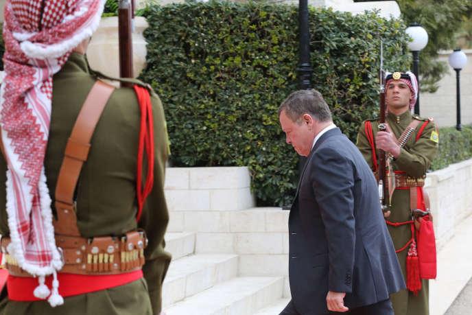 Le roi Abdallah II de Jordanie, le 15 janvier à Amman.