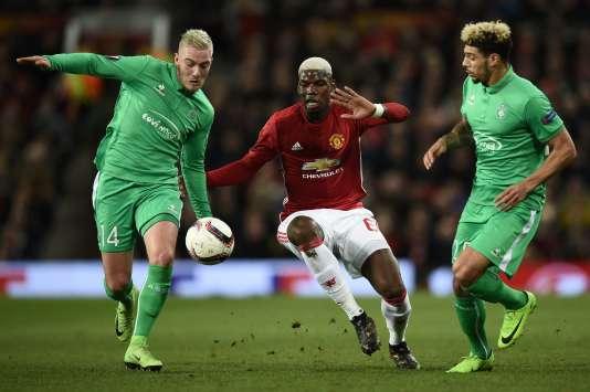 Manchester United s'est imposé face à l'AS Saint-Etienne, jeudi 16 février.