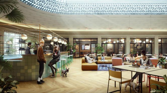 WeWork inaugurera, le 3 avril, 12 000 mètres carrés d'espace au 33, rue La Fayette, à Paris.