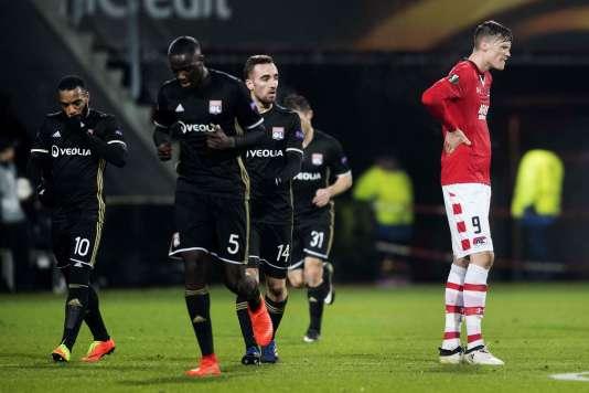 Les Lyonnais se sont facilement imposés à Alkmaar, jeudi 16 février.