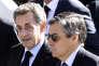 Nicolas Sarkozy et Francois Fillon à Nice, le 15 octobre 2016.