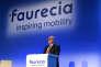 Le directeur général de Faurecia, Patrick Koller, en février à Paris.