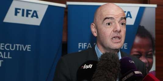 Gianni Infantino réagissant à la diffusion du documentaire dans lequel des hooligans russes menacent de s'en prendre aux supporteurs anglais.