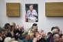 Sympathisants du parti Les Républicains lors d'une réunion de soutien à la candidature de François Fillon à Bordeaux le 16 février.