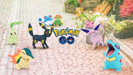 La deuxième génération de Pokémon est arrivée sur« Pokémon Go».