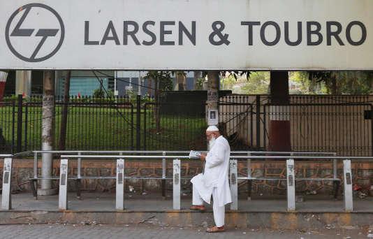 Le siège de Larsen &Toubro, à Bombay, en Inde, en mai2016.