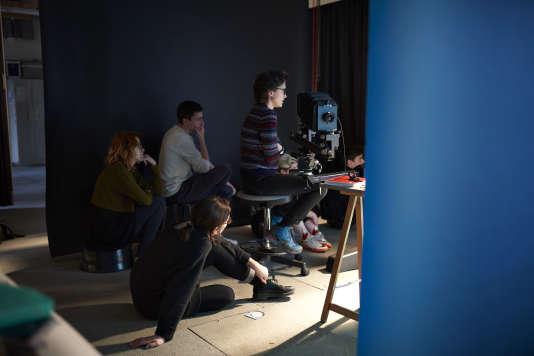 Ecole Nationale Supérieure de la Photographie d'Arles, stage de chambre au studio de l'école.En février 2017