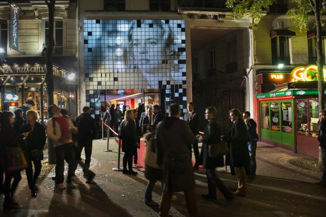 Inauguration du cinéma Gaumont La Fauvette sur l'avenue des Gobelins à Paris, le 5 novembre 2015.