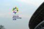 Capture d'écran du site Internet des Jeux asiatiques 2018.