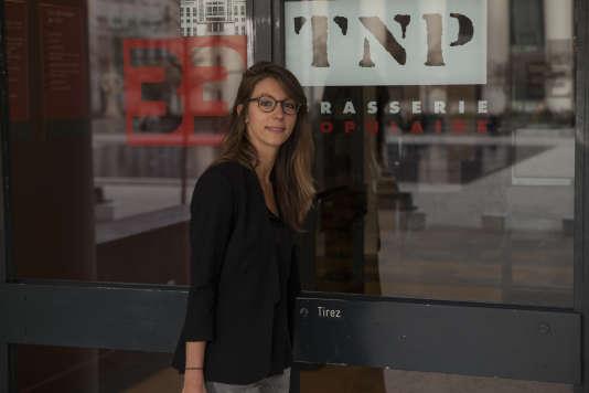 Laura Lange construit son métier de philosophe en entreprise.