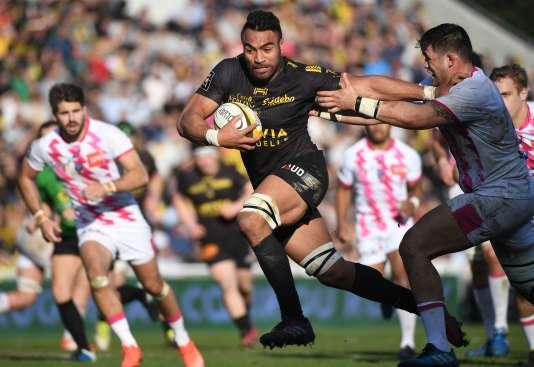 La star néo-zélandaise de La Rochelle, Victor Vito, a marqué un essai, samedi.