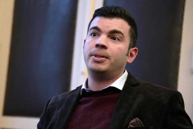Fabien Engelmann, le maire Front nationale de Hayange, le 16 décembre 2014.