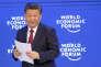 Le président chinois Xi Jinping au forum économique de Davos (Suisse) le 25 février.