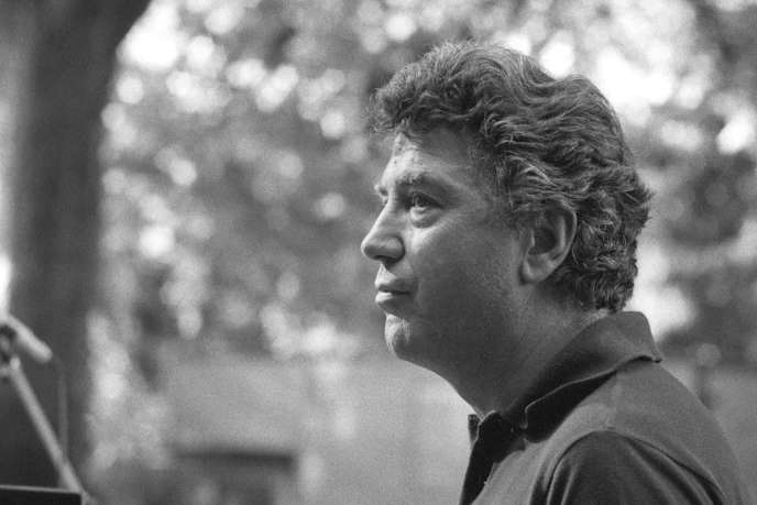 Maurice Vander lors du premier festival d'Uzeste en 1982.